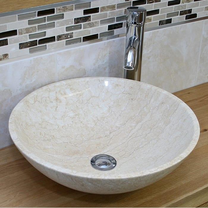 cream basin 700 x 700