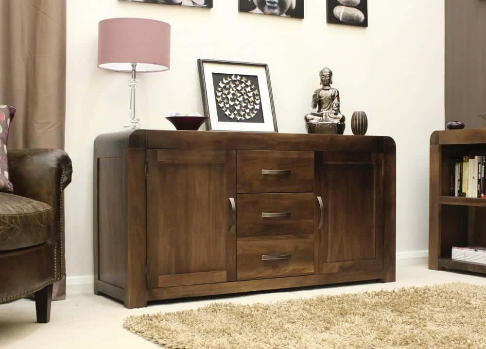 Shiro Solid Walnut Furniture Dining Room Large Sideboard
