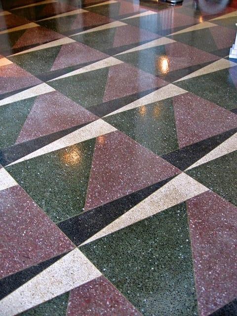 Art Deco Geometric Floor