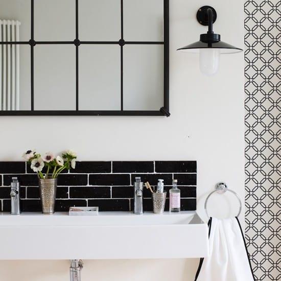Decorating Ideas For A Monochrome Bathroom