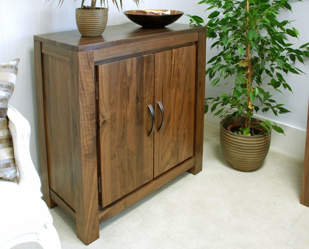 Mayan Walnut Furniture Shoe Cupboard Hall Storage CWC20A