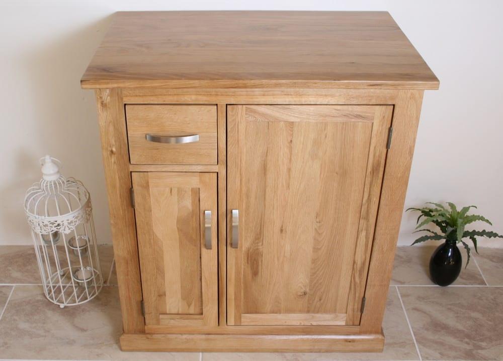 Oak Bathroom Storage Unit 503