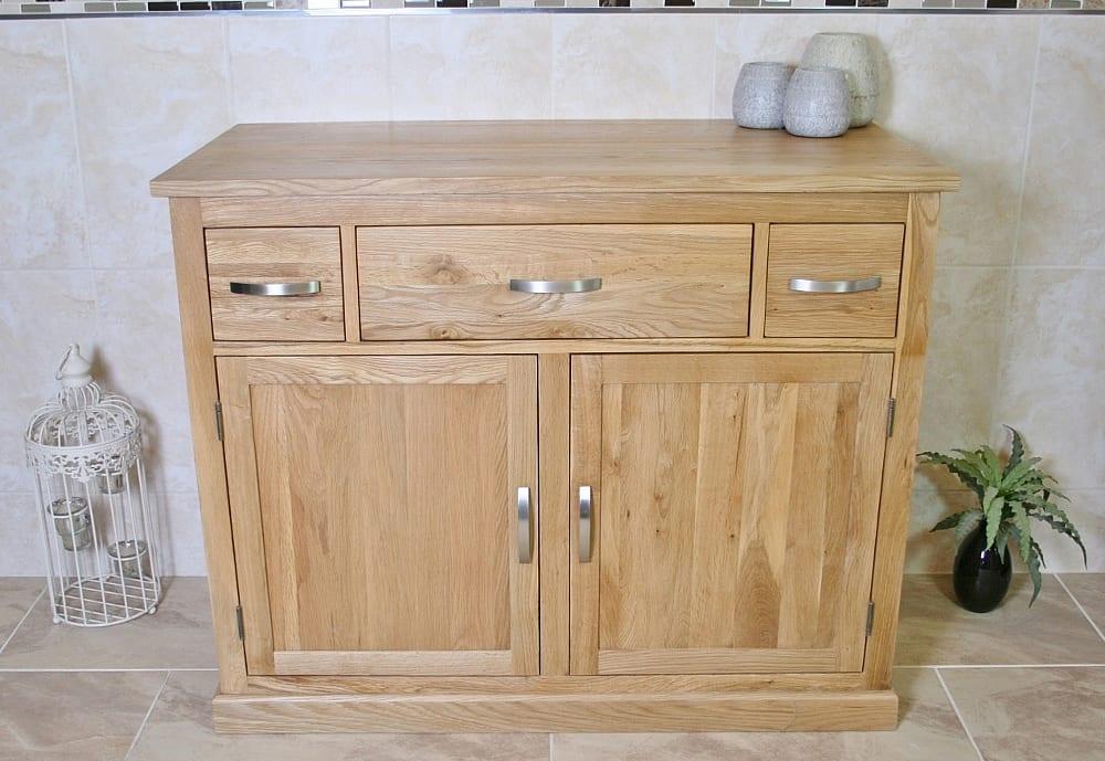 Oak Bathroom Storage Unit 1161