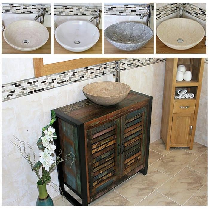 Urban Chic Single Vanity Unit Amp Stone Basin IRF02DSBC