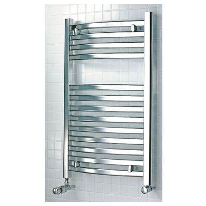 Bathroom Heated Chrome Towel Rail